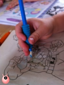 pencil control help for those with sensory processing disorder