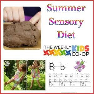 summer sensory diet