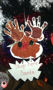 Reindeer Christmas Craft
