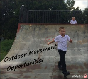 outdoor movement opportunities for the sensory seeker
