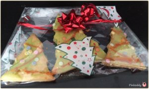 Christmas Tree Hand Made Biscuits Gifts
