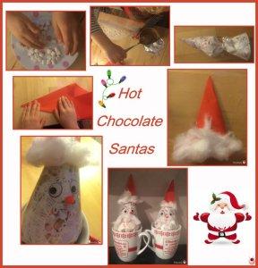 Hot chocolate Santa Gifts