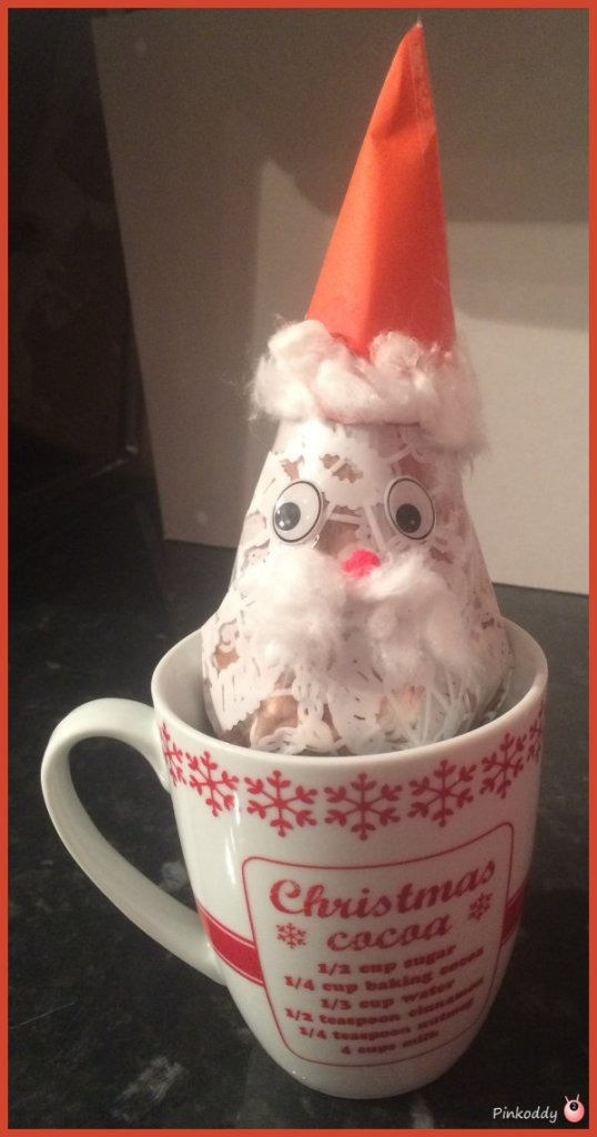 Hot Chocolate Santas