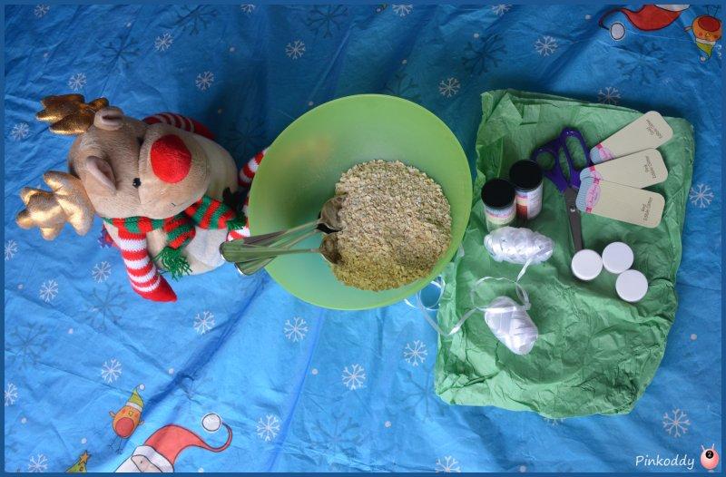 reindeer food sensory christmas