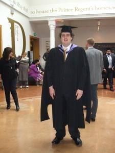 Logan Osborne Autistic Msc Student