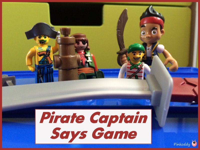 Pirate Captain Says Game