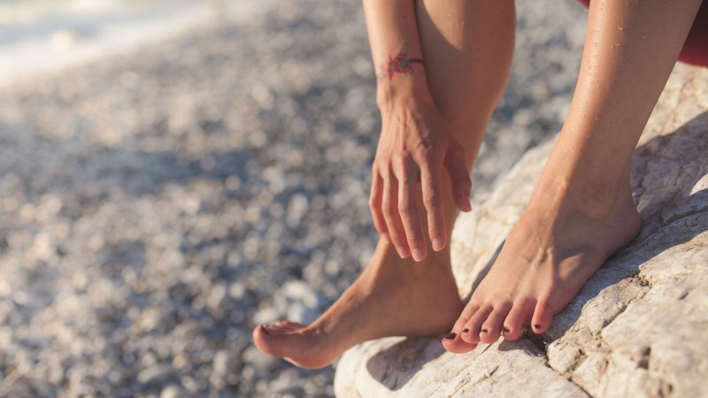 sensory issues with clothes bare feet