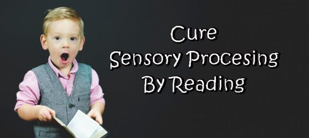 boy reading to cure sensory processing