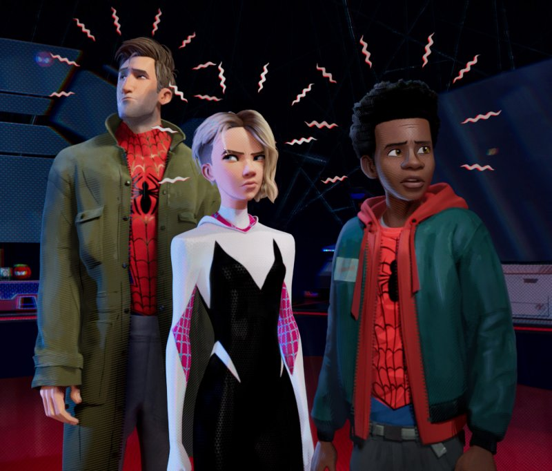 Spider-Man into the Spider-Verse identifying with others